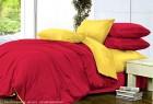 Комплект однотонного постельного белья из сатина Галатея