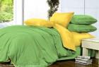 Комплект однотонного постельного белья из сатина Джульетта