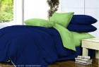 Комплект однотонного постельного белья из сатина Корделия