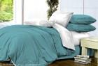 Комплект однотонного постельного белья из сатина Офелия