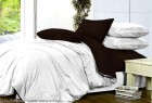 Комплект однотонного постельного белья из сатина Альфа