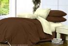 Комплект однотонного постельного белья из сатина Диана