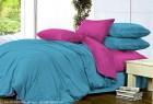 Комплект однотонного постельного белья из сатина  Карма