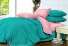 Комплект однотонного постельного белья из сатина Андромеда