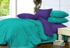 Комплект однотонного постельного белья из сатина Кассиопея