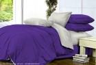 Комплект однотонного постельного белья из сатина Нимфа