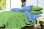 Комплект однотонного постельного белья из сатина Амальтея