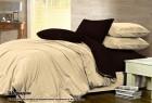 Комплект однотонного постельного белья из сатина 100% хлопок Шеридан